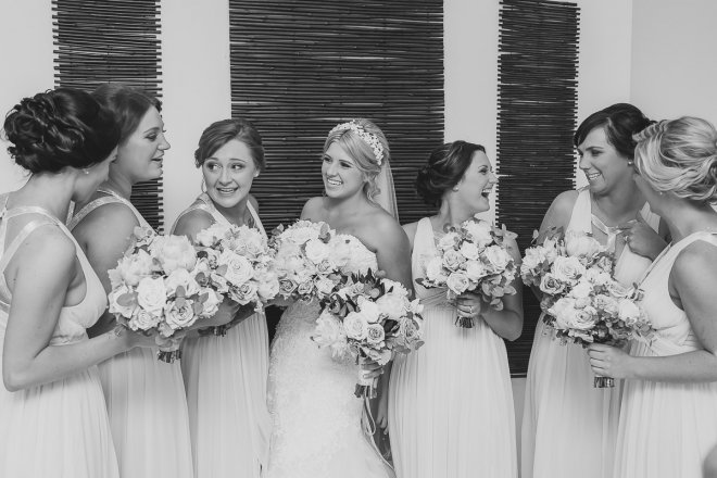Newcastle-Wedding-Photographer-Our-Work-Bridesmaids-Chatting